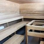Saunakabinetti sauna