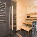 Sporthotel sauna.