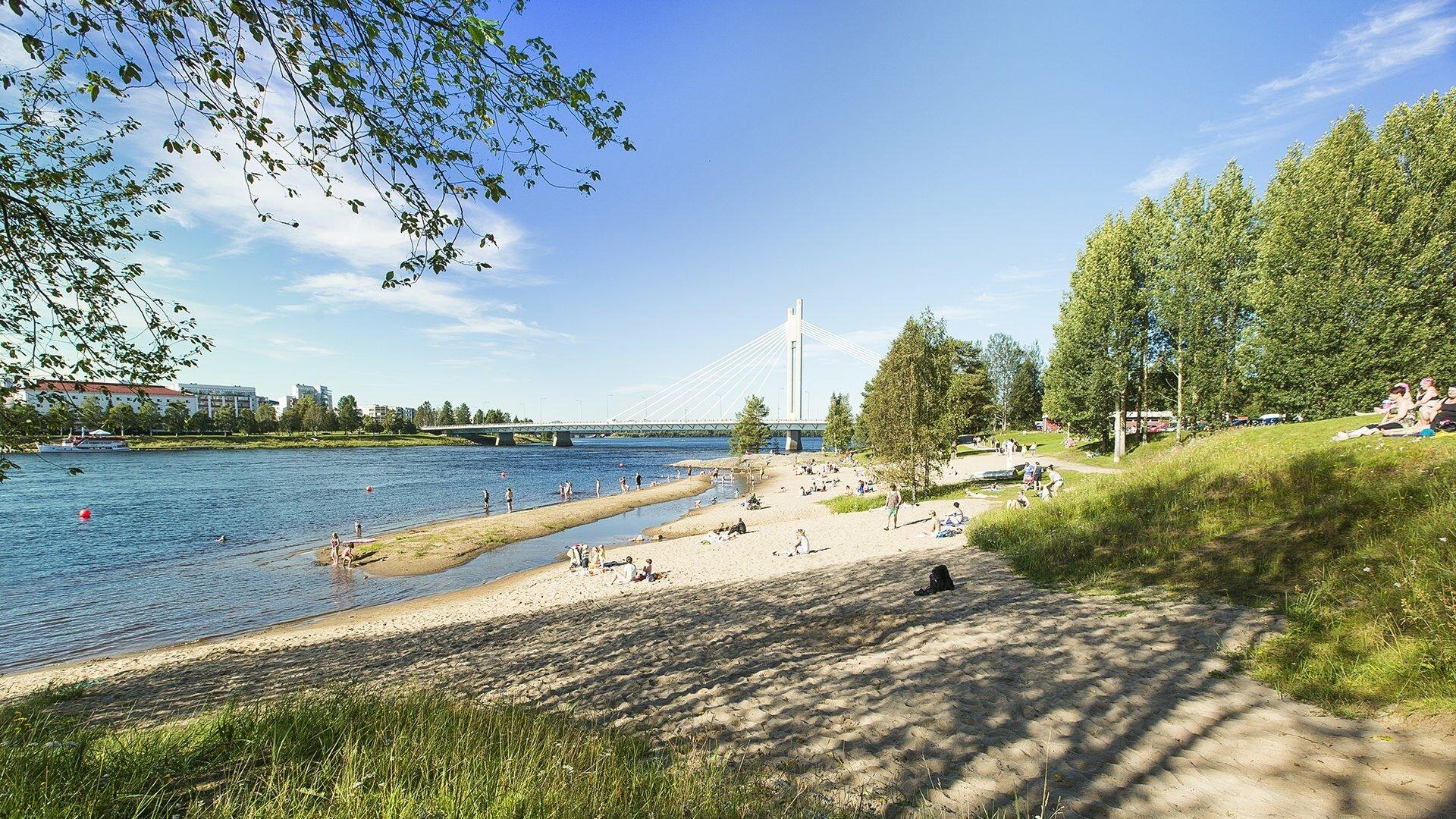 Ounaskoski ranta