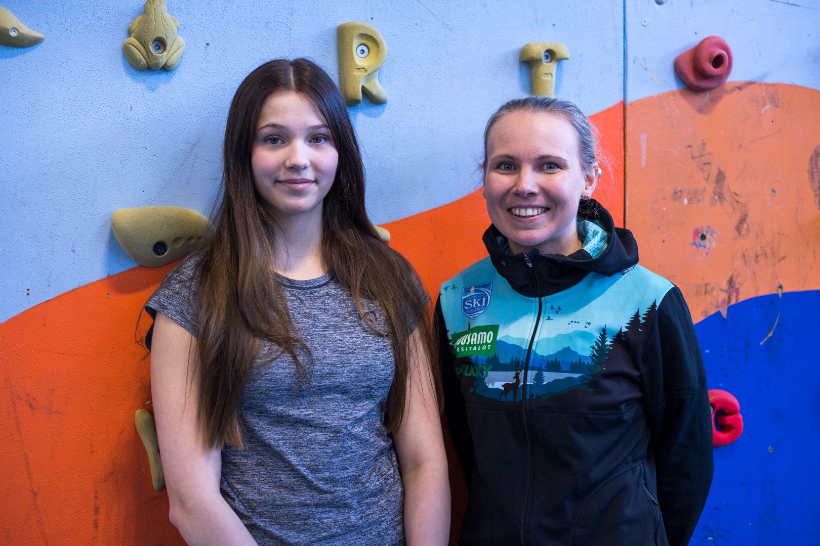 Sunna Vihervirta ja Susanna Saapunki