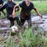 jalkapalloa suolla